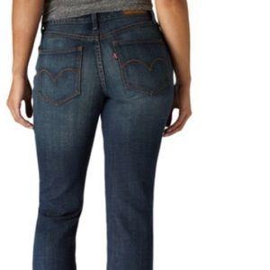 Levi's Dark Bold Curve Classic Rise Slim Jeans